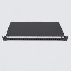 Патч-панель 24 порта ST/FC, пустая, 1U