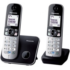 Panasonic KX-TG6812UAB Black радіотелефон DECT