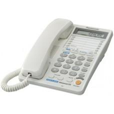 Panasonic KX-TS2368RUW, проводной телефон (двухлинейный)