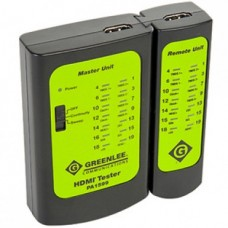 Greenlee PA1599, тестер HDMI кабелей