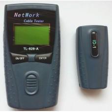 Тестер для кабельных сетей RJ-45, LCD дисплей