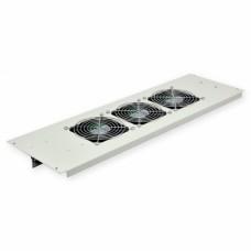 3-х вентиляторний блок в дах для шаф MGSE 610мм, сірий, CMS