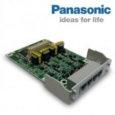 Panasonic KX-HT82480X, плата на 4 внешние аналоговые линии с CallerID (LCOT4)