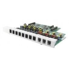 Panasonic KX-TE82483X, плата 3 зовнішніх аналогових (СО) і 8 внутрішніх гібридних ліній