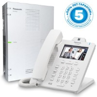 Panasonic KX-HTS824RU, ip атс - базовая конфигурация 4 внешних 8 внутренних линий