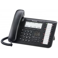 Panasonic KX-DT546RU Black, cистемний телефон