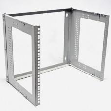 Кронштейн настенный  9U  глубина: 280…380мм, серый