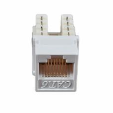 Модуль KeyStone RJ45 UTP, кат. 6, 110, Slim, W - 16.6 мм, белый, EPNew