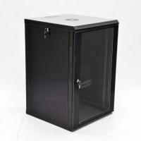 Монтажный шкаф 18U, 600х600х907 мм (Ш*Г*В), эконом, акриловое стекло, черный., серия MGSWL