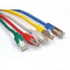 Патч-корд FTP, 1 м, кат. 5e, цветной