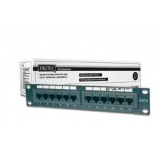Патч-панель DIGITUS 1U, 12 портов,5e UTP в сборе