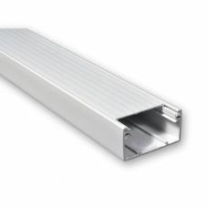 Короб пластиковый, размеры: 75x50, MK-elektric