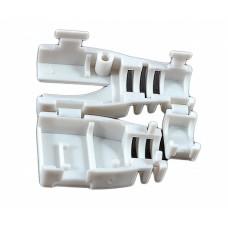 Колпачок пластиковый, разборной, для коннекторов, серый, EPNew
